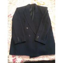 Saco De Vestir Talla 34, Color Azul