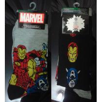Calcetines Medias Ironman Capitán América Spiderman Thor