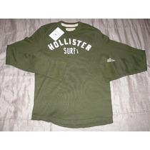 Polera Hollister ( Verde ) : Talla S