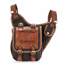 Morral Retro Vintage Augur, Casual, Messenger Bag