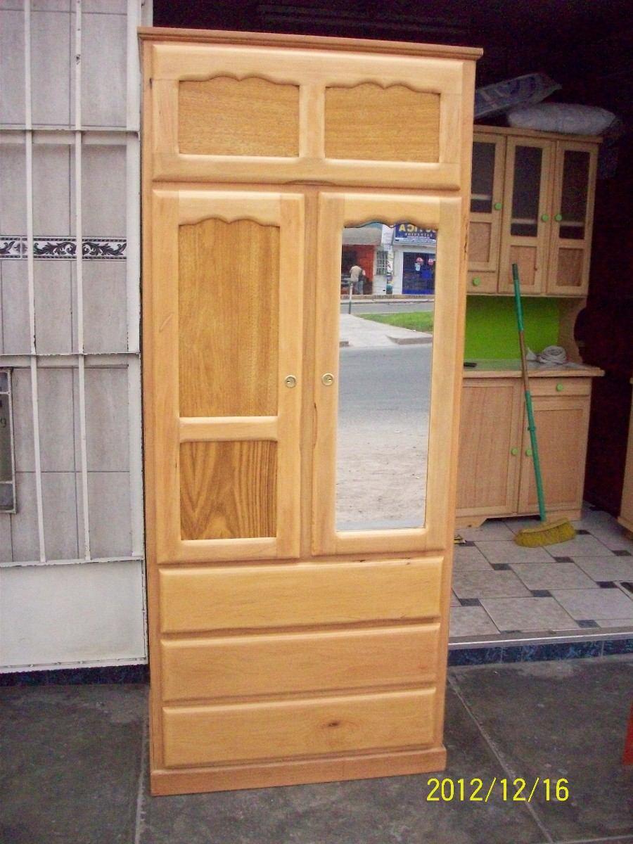 Ropero 2 puertas y cajones capirona s 315 00 en for Ropero usado precio