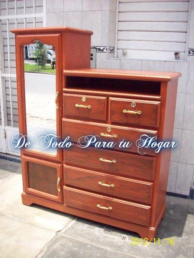 Ropero comoda con espejo s 385 00 en mercadolibre - Comoda con espejo ikea ...