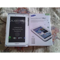 Pedido Samsung Galaxy Tab 2 P3110 Wifi 7 8gb Blanco Divx