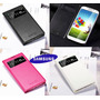 Flip Cover Samsung S4 Smart S View Original + Mica + Stylus