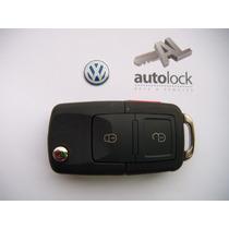 Carcasa Control Remoto Volkswagen Passat Fox Euro Van Cabrio