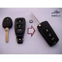Carcasa Control Remoto Con Flip Para Hyundai Avante Lantra