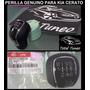 Perilla Kia Cerato 2013 2015 Original Lujo Cromado Y Cuero