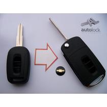 Carcasa De Control Remoto De 3 Botones De Chevrolet Captiva