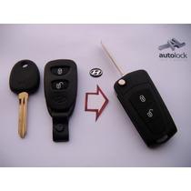 Carcasa De Control Remoto Con Flip Para Hyundai Tucson Coupe