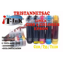 Ciss Sistema Continuo 5 Colores 1388r Tx525wd