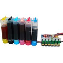 Sistema Continuo Epson T50 R270 R290 R390 Rx590 Full Tinta
