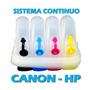 Sistema Continuo Antiderrame Hp Canon Vacio Modelos Nuevos