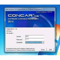 Concar 2015.01 - Sistema Contable Actualizado