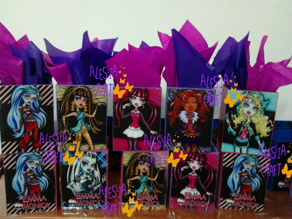 Sorpresas De Cumpleaños De Monster High - S/. 5,50 en MercadoLibre