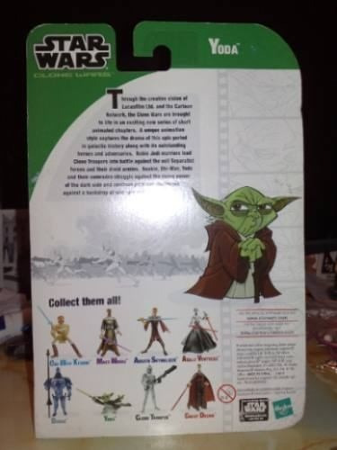 Star Wars Clone Wars Yoda - Cartoon Network 2003