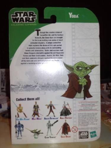 Star Wars Clone Wars Yoda - Cartoon Network 2003