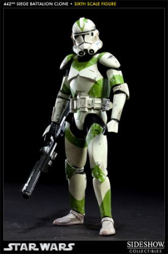Star Wars Sideshow 442nd Battalion Siege Clone Trooper