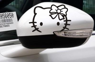 Stickers hello kitty para pegar en tus espejos s 20 for Espejos para pegar