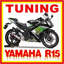 Tuning Motos Yamaha Yzf-r15, Monster, Rockstar, Fox Stickers