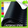 Vinilo Osandme Texturizado Fibra Carbono Original 1.5 X 0.50