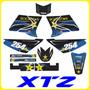 Adhesivos Xtz 125 Yamaha, Monster, Tuning Motos Fox Stickers