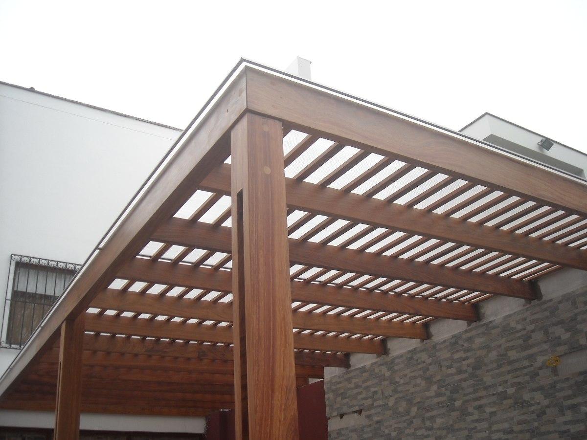 Techos de madera sol y sombra techos de madera julca - Precio techo madera ...