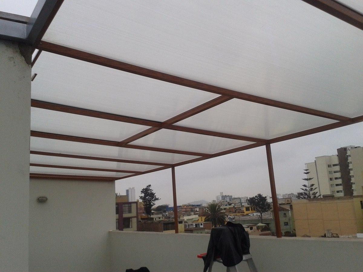 Policarbonato techos corredizos terrazas patios cocheras for Techos de policarbonato para balcones