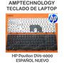 Teclado Laptop Hp Pavilion Dv6-6000 Negro Espanol Dv6 6000