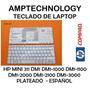 Teclado Hp Mini 311 Dm1 Dm1-1000 Dm1-1100 Dm1-2000 Dm1-2100