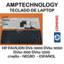 Teclado Hp Pavilion Dv6-3000 Dv6z-3000 Dv6z-3100 Dv6z-3200