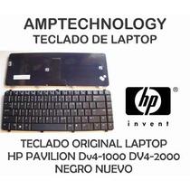 Teclado Laptop Hp Dv4-1000 Dv4-2000 Negro Nuevo Dv4