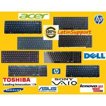 Teclado Laptop Hp Toshiba Acer Dell Sony Asus Samsung Lenovo