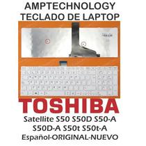 Teclado Laptop Toshiba Satellite S50 S50d S50-a S50d-a S50t