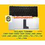 Teclado Toshiba C600 C640 C645 L730 L735 L740 L745 Español *