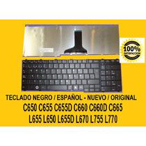 Teclado Toshiba Español C650 C655 C660 C665 L655 L670 L755