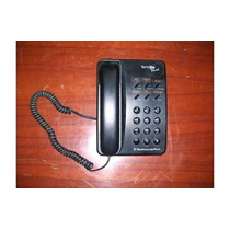Telefono Convencional Negro Modelo Forma Plus Ii