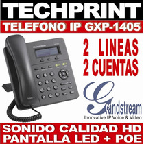 Telefono Ip Gxp1405 Pantalla Led 2 Sip Call Center Locutorio