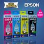 Tinta Epson Original L110,l220,l350 Hasta L1300 Itelsistem