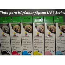 Tinta Epson Uv L - Series Printers 100ml C/m/y/bk/lm/lc
