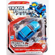 Transformers Prime Decepticon Rumble Deluxe Hasbro Niños