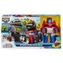 Transformers Rescue Optimus Prime ¿ Remolque De Rescate