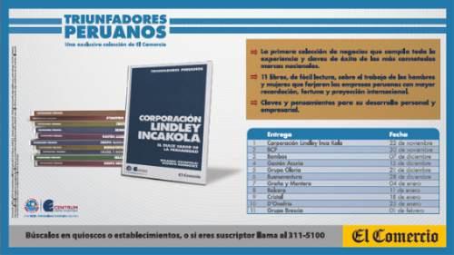 Triunfadores Peruanos- El Comercio