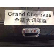 Jeep Grand Cherokee 14 - 15 Cromado De Manija De Maletera