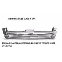 Malla Delantera Cromada Haice 2012 - 2015