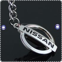 Llaveros Para Autos Kia Nissan Susuki Vw Honda Cromados