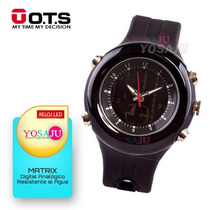Relojes Ots Deportivos Led Digital Matrix Unisex