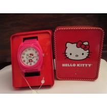 Precioso Reloj Marca Hello Kitty Importado De Usa