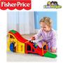 Pista De Carreras Little People Juguetes Fisher Price Niños