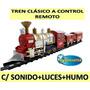 Tren Clasico Control Remoto +luces+sonidos+humo-micromaster