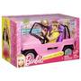 Barbie Auto Playa Viene Con Dos Muñecos